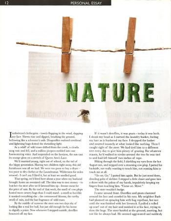 Nature Undone