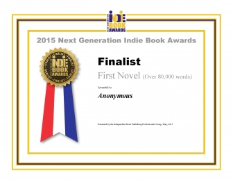 Three time book award Finalist